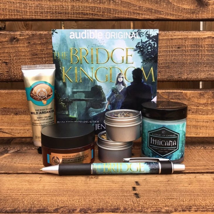 TBK Giveaway Prize